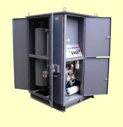 Установка маслоочистительная цеолитовая ЭТМА МЦУ-Н180 У1