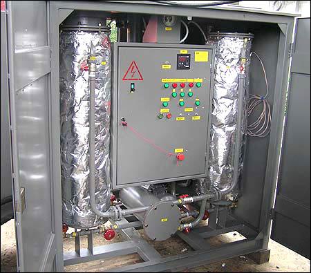 Установка маслоочистительная цеолитовая ЭТМА МЦУ-7 У1