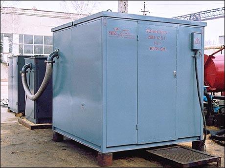Установка для обработки трансформаторного масла ЭТМА УВМ-12Б1 У1